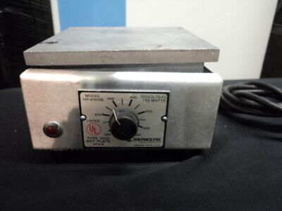 Thermolyne Type 1900 Hot Plate Hpa1915b 120v 6.2amps 750w 5060hz 1-ph
