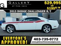 2013 Dodge Challenger R/T V8 $199 bi-weekly APPLY NOW DRIVE NOW