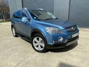 2008 Holden Captiva CG LX 60th Anniversary Wagon 7st 5dr Spts Auto 5sp AWD 2.0DT Blue Villawood Bankstown Area Preview