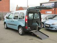Renault Kangoo wheelchair adapted car, van, disabled access vehicle, WAV