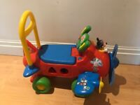 Mickey Mouse Plane walker music and shapes