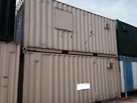 20' x 8' Canteen/Drying/Toilet Steel Cabin