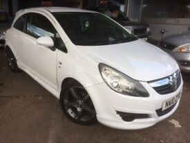 VAUXHALL CORSA 1.4 SXI , 3DR, WHITE 2010 10 REG EXTERIOR PACK, NEW MOT ON SALE