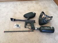 Dangerous Power E1 Paintball Marker and related items