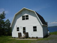 Water Front Cottage And Land For Sale