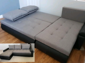 Brand New Corner Sofa Bed. Was £750 now only £300. *Delivery available