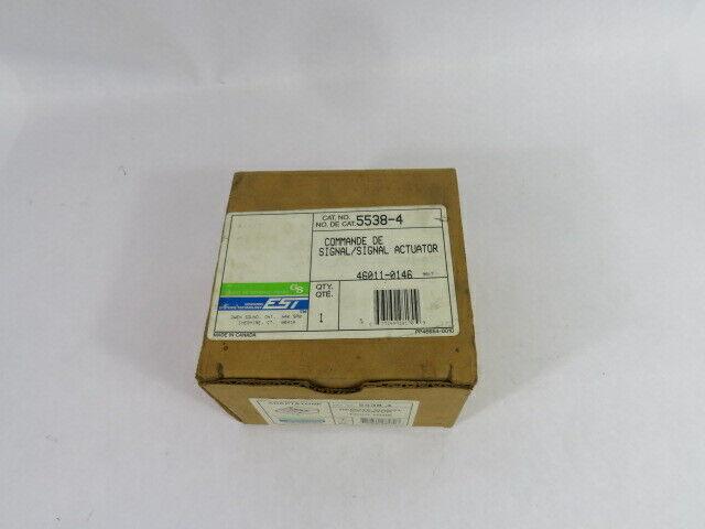 Edwards 5538-4 Four Tone Signal Actuator  NEW