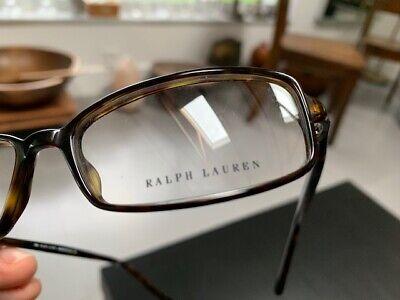 RALPH LAUREN RL685 086 Eyeglasses Frame Italy Petite 130 Tortoise