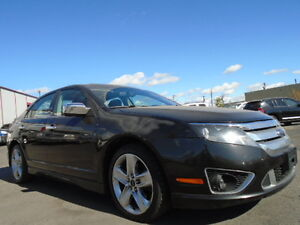2010 Ford Fusion LUXURY SPORT PKG--AWD--LEATHER-SUNROOF-STARTER