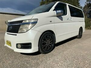 2003 Nissan Elgrand E51 Highwaystar White Automatic Wagon South Nowra Nowra-Bomaderry Preview