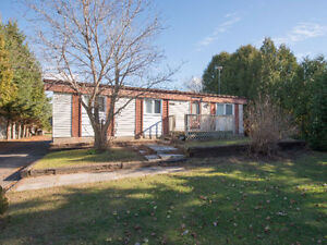 2 Bedroom,1 Bath bungalow in Rockland on 2.57 acres for sale!