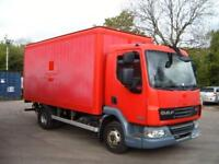 2007 DAF LF 45.140 WITH FULL SIZE TAIL LIFT LONG MOT