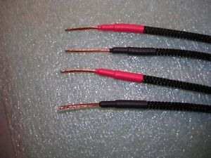 Power amp/speaker Banana Jack adapters, 14 AWG(OFC). New West Island Greater Montréal image 2