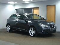 SEAT IBIZA 1.6 TDI CR DPF SPORTCOUPE 2010MY SPORT+++ONLY £30 A YEAR TAX+++
