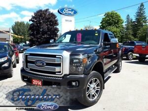 2014 Ford Super Duty F-350 PLATINUM *LEATHER**NAV**SUNROOF*