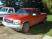 2002 GMC Sierra 1500, 5.3, 4x4, X.-Cab, =ONLY FOR PARTS=