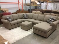 5 piece Sectional Made in Calgary! ONLY $2488 – LOWEST PRICES!!!