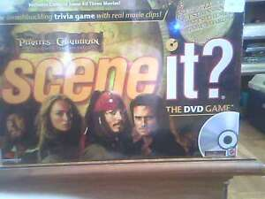 Pirates of the Caribbean DVD Game