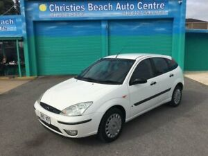 2003 Ford Focus LR CL White 4 Speed Automatic Hatchback Christies Beach Morphett Vale Area Preview