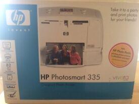 HP Photosmart 335 printer (photo's only!)