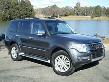 2014 Mitsubishi Pajero NX MY15 Exceed LWB (4x4) Grey 5 Speed Auto Sports Mode Wagon Belconnen Belconnen Area Preview