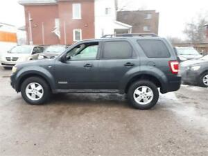 2008 Ford Escape XLT-Leather-Heated Seats- V6-3.0L,Alloys.Cert.