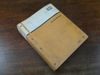 Oem Case 450 Crawler Dozer Service Repair Shop Overhaul Manual 9-72334