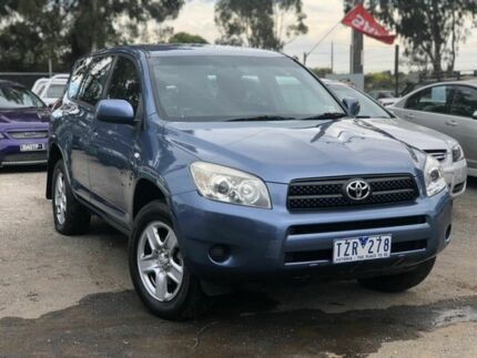 2005 Toyota RAV4 ACA23R CV (4x4) Blue 4 Speed Automatic Wagon Werribee Wyndham Area Preview