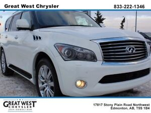 2012 Infiniti QX56 DELUXE TOURING PACKAGE**7 PASS**BLIND SPOT WA