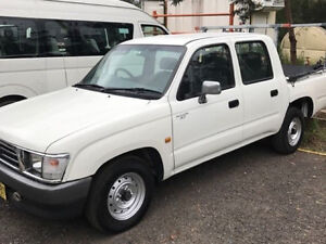 2000 Toyota Hilux Dual Cab Ourimbah Wyong Area Preview