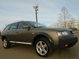 2004 Audi Allroad QUATTRO-2.7T V6 TWIN TURBO-AWD-LEATHER-SUNROOF