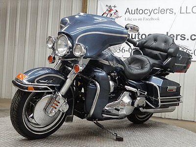 2003 Harley-Davidson Touring 2003 HARLEY DAVIDSON ELECTRA GLIDE ULTRA CLASSIC FLHTCUI SALVAGE CHEAP