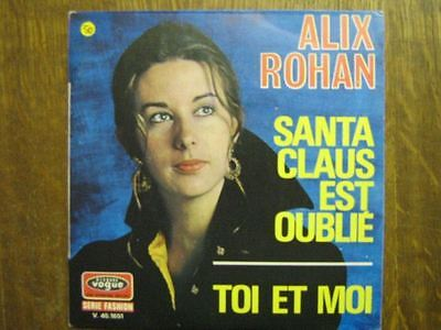ALIX ROHAN 45 TOURS FRANCE MICHEL BERGER