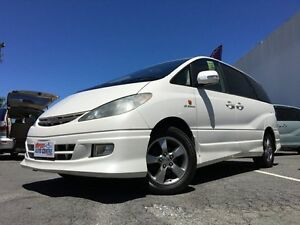 2002 Toyota Estima G Edition White 4 Speed Automatic Campervan Underwood Logan Area Preview