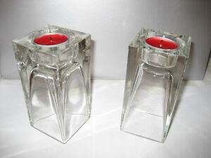 Candle Holders with Tea Lights