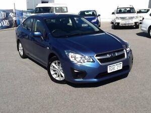 2014 Subaru Impreza G4 MY14 2.0i Lineartronic AWD Blue Pearl 6 Speed Constant Variable Sedan Rockingham Rockingham Area Preview