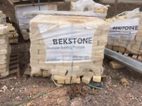 Cotswold Reconstructed Tumbled Building Stone - Approximately 30 sq meters.