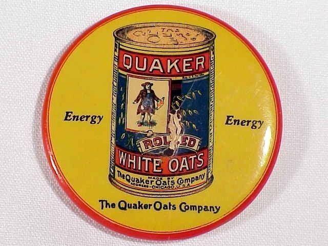 QUAKER OATS ADVERTISING POCKET MIRROR