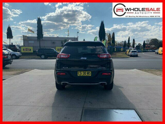 2014 Jeep Cherokee KL Limited Wagon 5dr Spts Auto 9sp 4x4