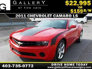 2011 Chevrolet Camaro LS $159 bi-weekly APPLY NOW DRIVE NOW