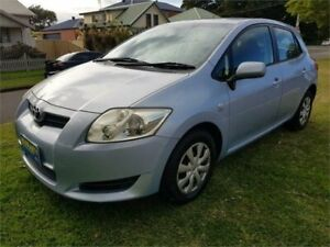 2007 Toyota Corolla ZRE152R Ascent Blue 4 Speed Automatic Hatchback Broadmeadow Newcastle Area Preview