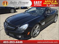 2009 MERCEDES BENZ SL63 AMG LOW KM CONVERTIBLE NAVIGATION