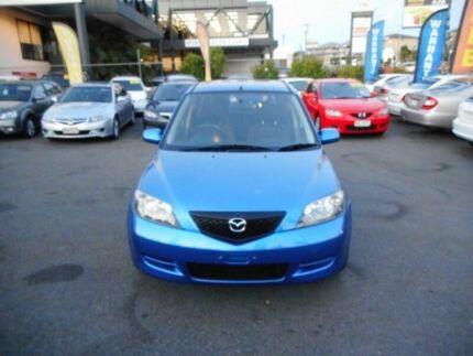 2005 Mazda 2 Dy Neo Blue 4 Sd Automatic Hatchback