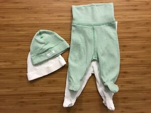 set 2 pants and 2 beanies, size AUS 0000/EUR 50 cm New Farm Brisbane North East Preview