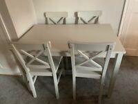 Light Grey Family Dinning Table