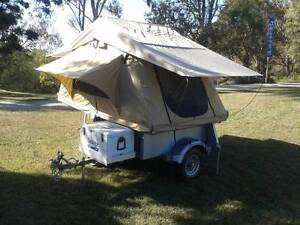 Niffty campers, Camper trailer to suit Motorbike Rothwell Redcliffe Area Preview