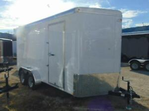 2017 Mirage 7X16 V-Nose Cargo / Toy Hauler w. X Hgt and Ramp