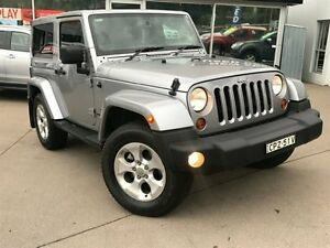 2013 Jeep Wrangler JK MY13 Overland (4x4) Silver 5 Speed Automatic Softtop Dee Why Manly Area Preview
