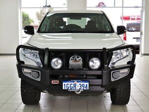 2014 Toyota Landcruiser Prado KDJ150R MY14 GX (4x4) White 5 Speed Sequential Auto Wagon Morley Bayswater Area Preview