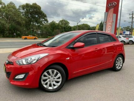 2013 Hyundai i30 GD Active Red 6 Speed Sports Automatic Hatchback Goulburn Goulburn City Preview